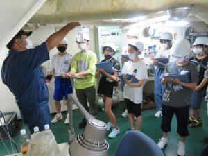 富山高専ジュニアドクター育成塾講座第3回「海洋科学実習①」を実施しました。