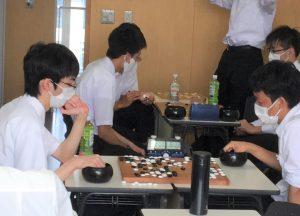 第45回全国高等学校総合文化祭(高文祭)囲碁部門の出場権を獲得しました。