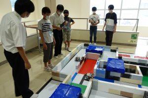 富山高専ジュニアドクター育成塾講座第4~6回「ロボットプログラミング実習①~③」を実施しました。