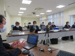 【海事人材育成事業】第1回運営委員会を開催しました。